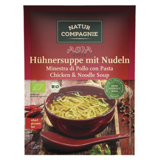 Natur Comp ASIA Hühnersuppe mit Nudeln 40g Beutel