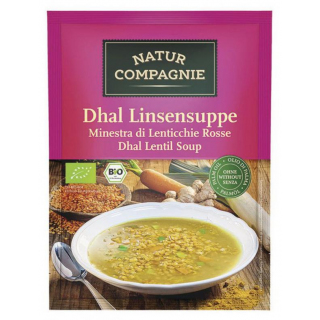 Natur Comp Dhal Linsensuppe 60g Beutel