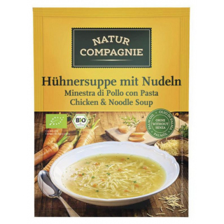 Natur Comp Hühnersuppe mit Nudeln 40g Beutel