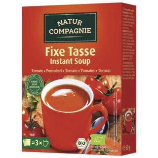 Natur Comp Fixe Tasse Instant Suppe Tomate, 3x20g