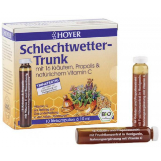 Hoyer Schlechtwetter-Trunk 10x 10ml Ampullen