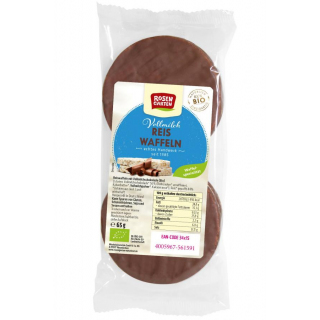 Roseng Reis Poppers Vollmilch 65g Packung