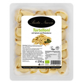 Pasta Nuova Tortelloni Spinat-Pinienkerne ca. 250g Packung