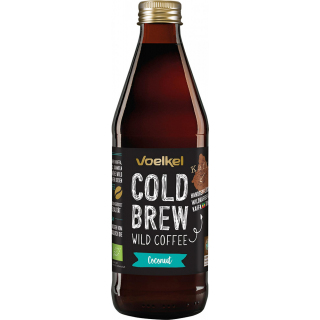 Voelkel Cold Brew Wild Coffee Coconut 0,33l Flasche