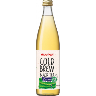 Voelkel Cold Brew Black Tea Assam 0,5l Flasche