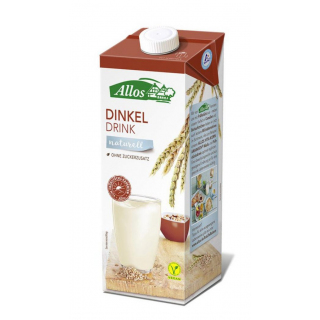 Allos Dinkel Drink naturell 1l Tetra  Pack