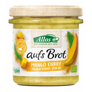Allos Auf´s Brot Mango Curry 140g Glas