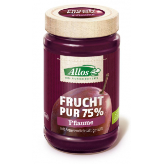 Allos Frucht Pur Pflaume 250g Glas -75% Fruchtanteil-