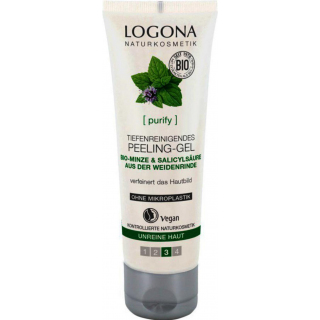 Logona Peeling Gel klärend 100ml Tube