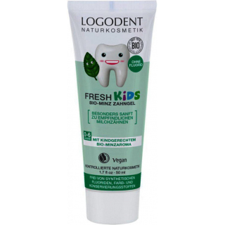 Logona Fresh Kids Minzzahngel 50ml Tube