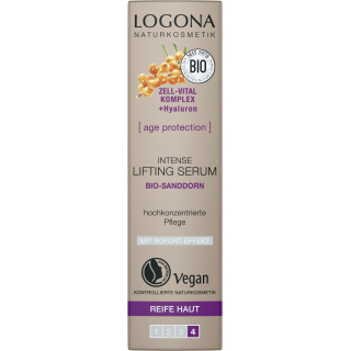 Logona Intense Lifting Serum Age Protection 30ml Spender