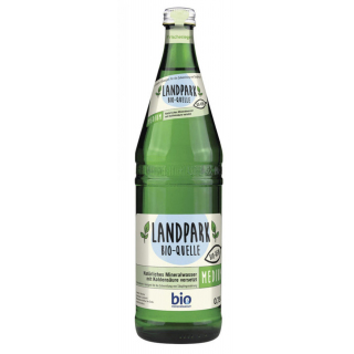 Landpark Bio-Quelle Medium, 0,75l Flasche