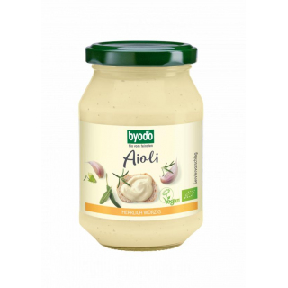 byodo Aioli vegan 250ml Glas