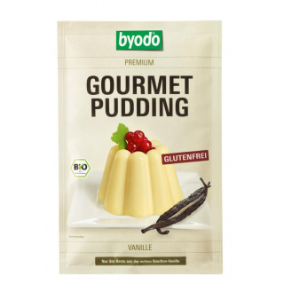 Byodo Gourmet Pudding Vanille 36g Beutel