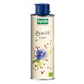 Byodo Natives Leinöl 250ml Dose
