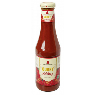 Zwergenwiese Curry-Ketchup 500ml Flache