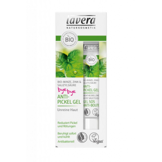 lavera Anti-Pickel Gel, Bio-Minze 15ml Tube