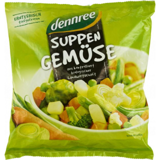 dennree Suppengemüse 450g Beutel