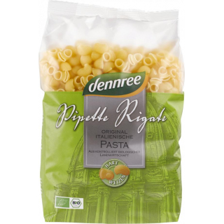 dennree Pipette Rigate 500g Packung -hell-