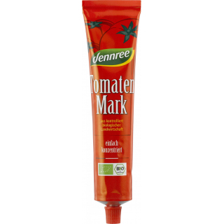 dennree Tomatenmark in der Tube 22% Trockenmasse 150g Tube