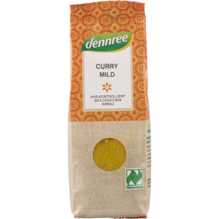 dennree Curry mild 55g Packung