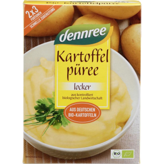 dennree Kartoffel-Püree 160g Packung