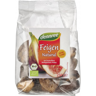 dennree Feigen Natural Türkei 250g Packung