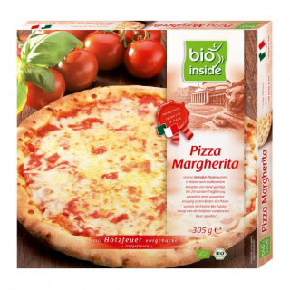 Bio Inside Pizza Margherita 305g Packung