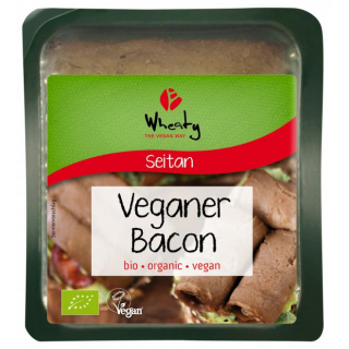 Topas Wheaty Veganer Bacon 60g Packung