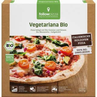 followfood Dinkel-Pizza Vegetariana 367g Schachtel