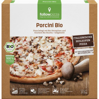 followfood Pizza Porcini 313g Schachtel