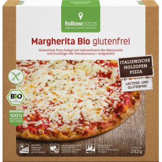 followfood Pizza Margherita 282g Schachtel -glutenfrei -