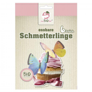 Global Sweets Trading GmbH Essbare Schmetterlinge 6x 0,66g Packung