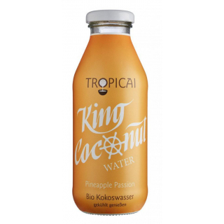 Tropicai Kokoswasser Pineapple Passion 0,35l Flasche
