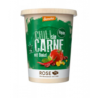 Rose Biomanufaktur Veganes Chili sin Carne 400ml Becher