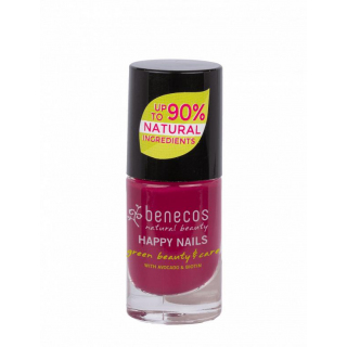 benecos Nail Polish wild orchid 5ml Flasche