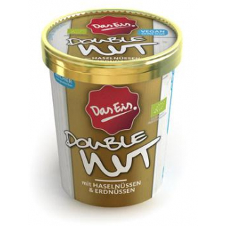 DasEis Double Nut - Eis vegan 500ml Becher