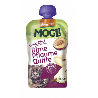 Mogli Moothie Pflaume Birne Quitte 100ml Packung