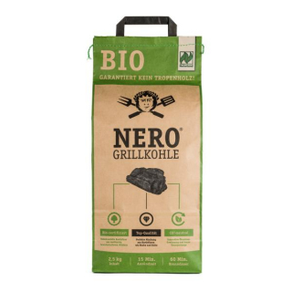 Nero Grillkohle Native 2,5kg Tüte