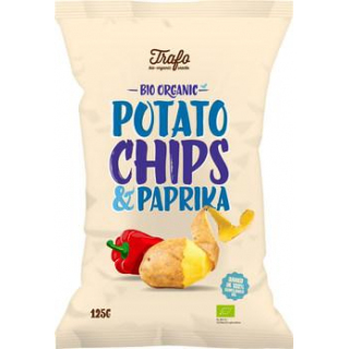 Trafo Chips Paprika 125g Packung
