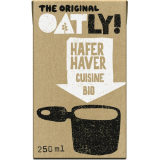 Oatly Hafer Cuisine 250ml Tetra Pack