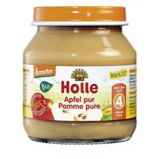 Holle Apfel pur 125g Glas