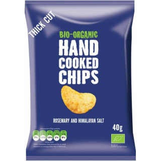 Trafo Handcooked Chips Rosemary & Himalaya Salt 40g Packung