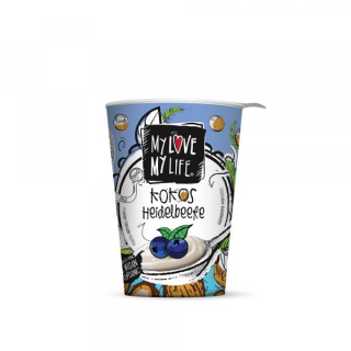 MyLove-MyLife Kokos Heidelbeere 180g Becher